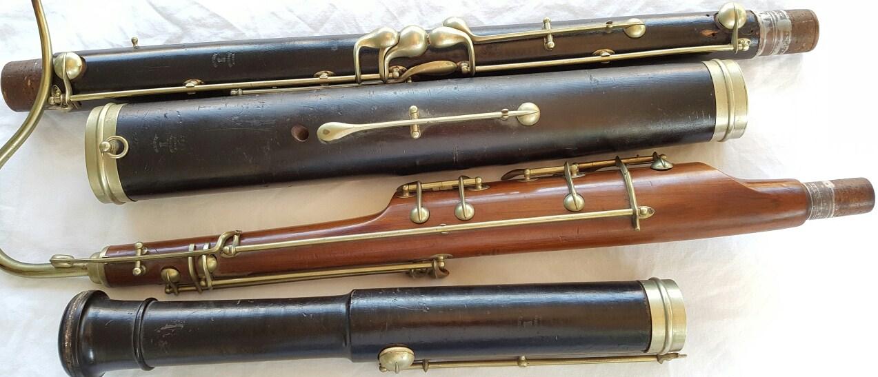 Bassoon,savary,sautermeister,adler,peze,kirst,heckel,amlingue